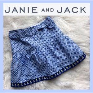 JANIE AND JACK Flower Skirt 🌺
